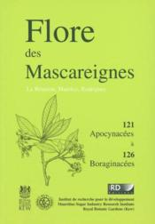 Flore des mascareignes 121-126 apocynacees a boraginacees  - Collectif