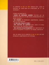 Mecanisme De L'Immunite - 4ème de couverture - Format classique