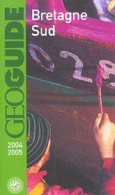 Geoguide ; Bretagne Sud (Edition 2004/2005) - Intérieur - Format classique