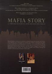 Mafia story t.2 ; la folie du hollandais t.2 - 4ème de couverture - Format classique