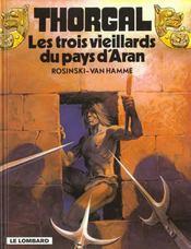 Thorgal T.3 ; Les Trois Vieillards Du Pays D'Aran - Intérieur - Format classique