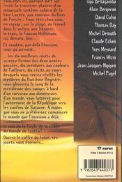 SF2000-2001 : les meilleures récits de l'année - 4ème de couverture - Format classique
