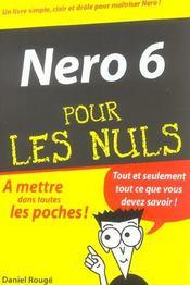 Nero 6 pour les nuls - Intérieur - Format classique