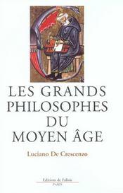 Les grands philosophes du moyen-age - Intérieur - Format classique