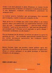 Cavale en Normandie - 4ème de couverture - Format classique