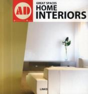 Vente livre :  Great spaces ; home interiors  - Krauel Jacobo