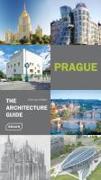 Vente  Prague ; the architecture guide  - Chris Van Uffelen