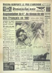 Journal Du Dimanche Soir (Le) N°741 du 29/01/1961 - Couverture - Format classique