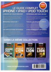 Competence Mac N.32 ; Le Guide Complet Iphone & Ipad Avec Ios 7 - 4ème de couverture - Format classique