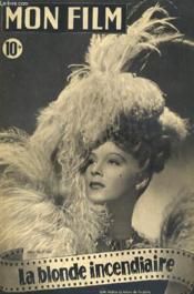 Mon Film N° 92 - La Blonde Incendiaire - Couverture - Format classique