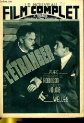 Le Nouveau Film Complet N° 39 - L'Etranger - Couverture - Format classique