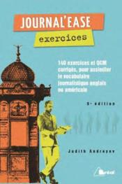 Vente livre :  Journal'ease ; exercices  - Judith Andreyev