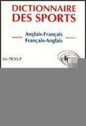 Dictionnaire Des Sports Anglais-Francais Francais-Anglais - Intérieur - Format classique