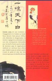 Horoscope Chinois - 4ème de couverture - Format classique
