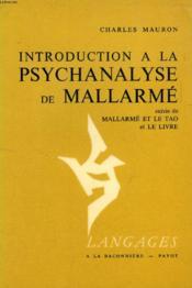 Introduction a la psychanalyse de mallarme - Couverture - Format classique