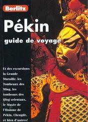 Guide De Voyage ; Pekin - Intérieur - Format classique