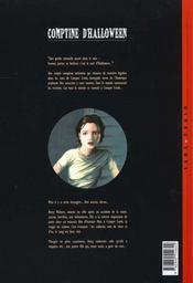 Comptine d'Halloween t.1 ; réminiscences - 4ème de couverture - Format classique
