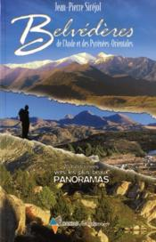 Belvederes De L'Aude Et Des Pyrenees Orientales - Couverture - Format classique