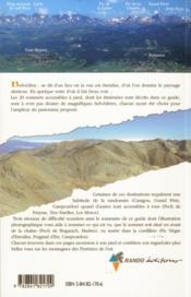 Belvederes De L'Aude Et Des Pyrenees Orientales - 4ème de couverture - Format classique
