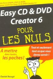 Easy Cd Et Dvd Creator 6 - Intérieur - Format classique