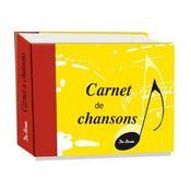 Carnet de chansons - Intérieur - Format classique