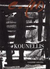 Kounellis/Reperes 118 - Intérieur - Format classique