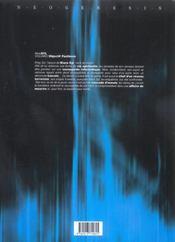 Mme syl t.2 ; objectif pantheon - 4ème de couverture - Format classique