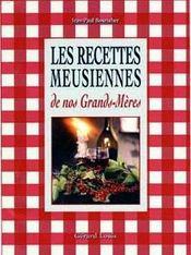Les recettes meusiennes de nos grands-mères - Intérieur - Format classique