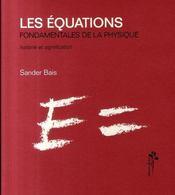 Les équations fondamentales de la physique - Intérieur - Format classique