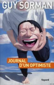 Vente livre :  Journal d'un optimiste  - Guy Sorman