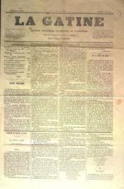 Gatine (La) N°5 du 02/04/1870 - Couverture - Format classique