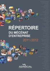 Le répertoire du mécenat d'entreprise 2011/2012 - Couverture - Format classique