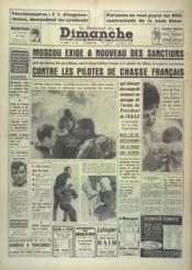 Journal Du Dimanche (Le) N°743 du 12/02/1961 - Couverture - Format classique