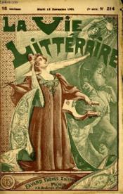 Une Conversation. La Vie Litteraire. - Couverture - Format classique