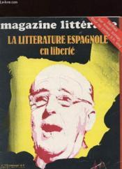 Magazine Lietteraire N°170 - La Litterature Espagnol En Liberte - Couverture - Format classique