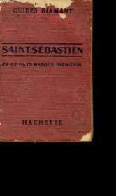 Guides Diamant. Saint Sebastien Et Le Pays Basque Espagnol. - Couverture - Format classique
