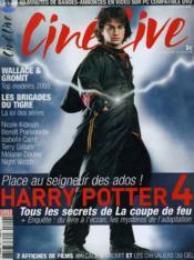 Cine Live - N° 94 - Harry Potter 4 - Couverture - Format classique