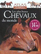 Les Plus Beaux Chevaux Du Monde - Intérieur - Format classique