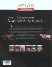 Les Plus Beaux Chevaux Du Monde - 4ème de couverture - Format classique