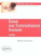 Essai Sur L'Entendement Humain Locke - Intérieur - Format classique