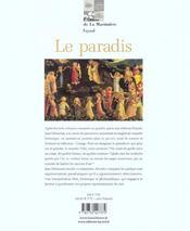 Paradis (Le) - 4ème de couverture - Format classique