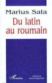 Du Latin Au Roumain - Intérieur - Format classique