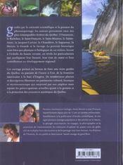 Rivieres Du Quebec Decouverte D'Une Richesse Patrimoniale Et Naturelle - 4ème de couverture - Format classique