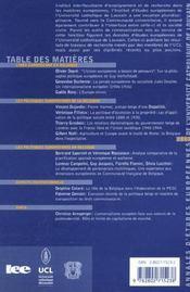 Annales D'Etudes Europeennes Vol 5 - 4ème de couverture - Format classique