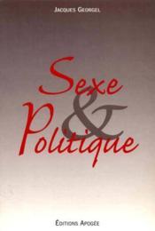 Sexe & politique - Couverture - Format classique