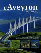 L'Aveyron vu du ciel - Couverture - Format classique