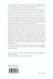 Espace Et Pouvoir Du Quaternaire Le Para - 4ème de couverture - Format classique