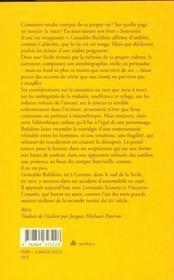 Calendes Grecques ; Souvenirs D'Une Vie Imaginaire - 4ème de couverture - Format classique