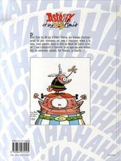 Astérix et ses amis - 4ème de couverture - Format classique
