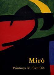 Miro Paintings T4-1959/1968 - Intérieur - Format classique